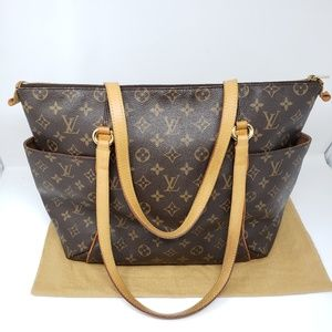 100% Auth Louis Vuitton Totally MM Tote